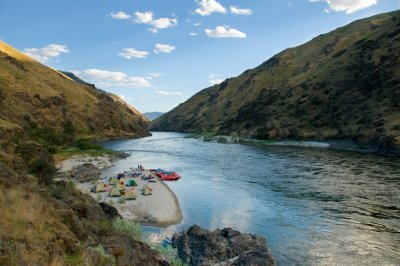 Salmon River Canyons Campsite