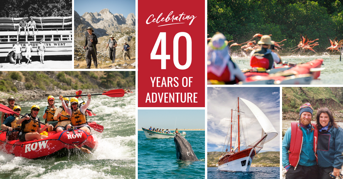ROW Adventures 40th Anniversary