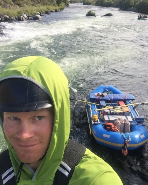 river guide in pacific northwest