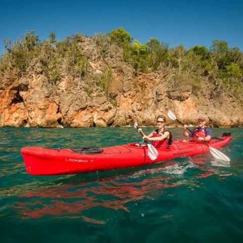 kayak in Cuba