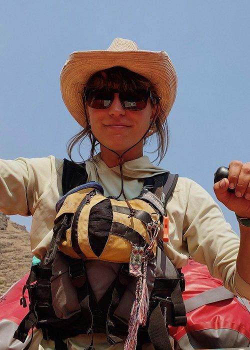 female river guide in north idaho