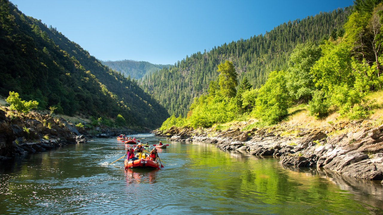Rogue River Rafting in Oregon