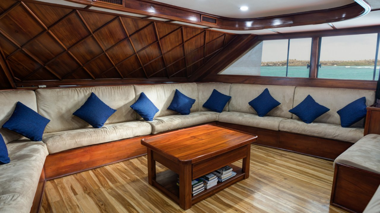 Lounge on Letty Yacht