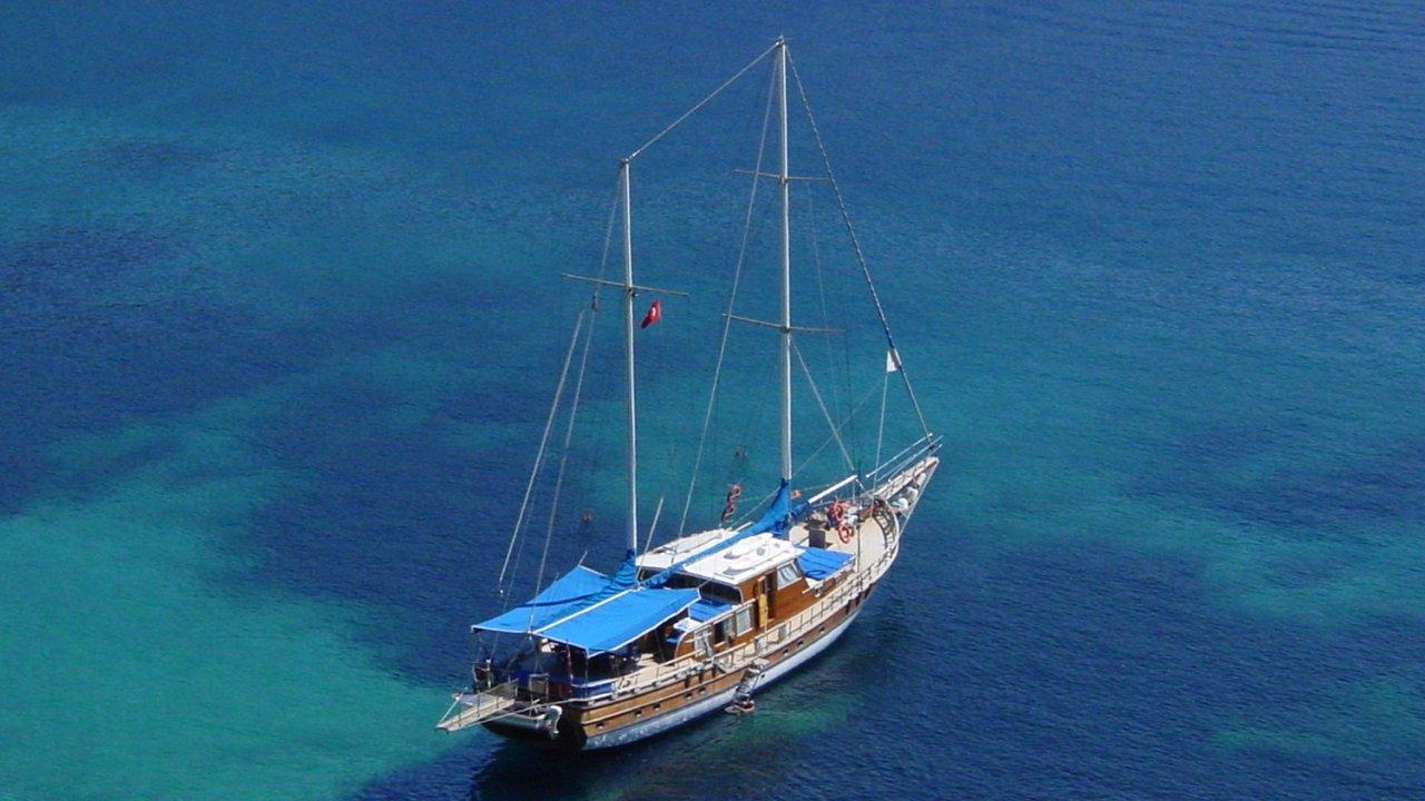 turkey motor sail yacht