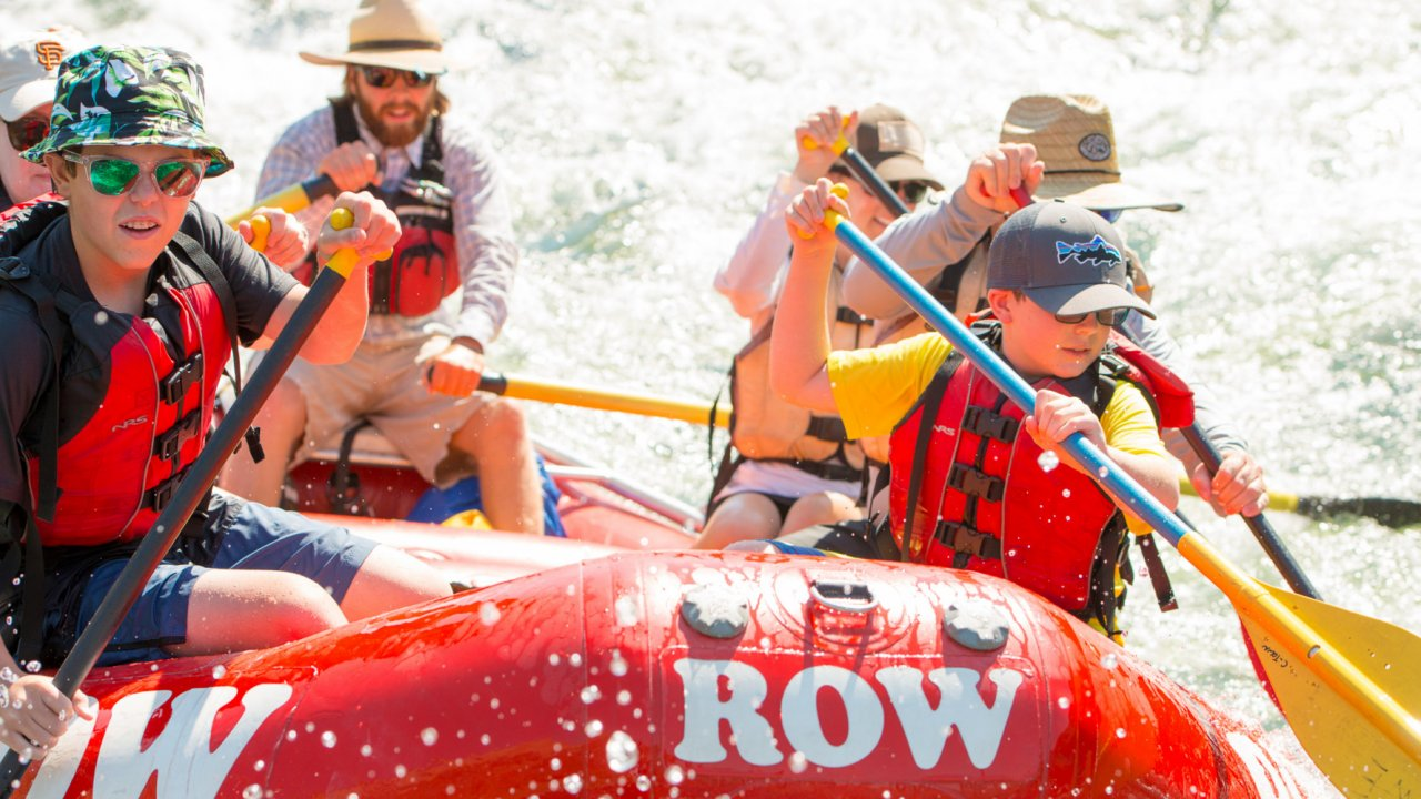 Grand Ronde Rafting Tours