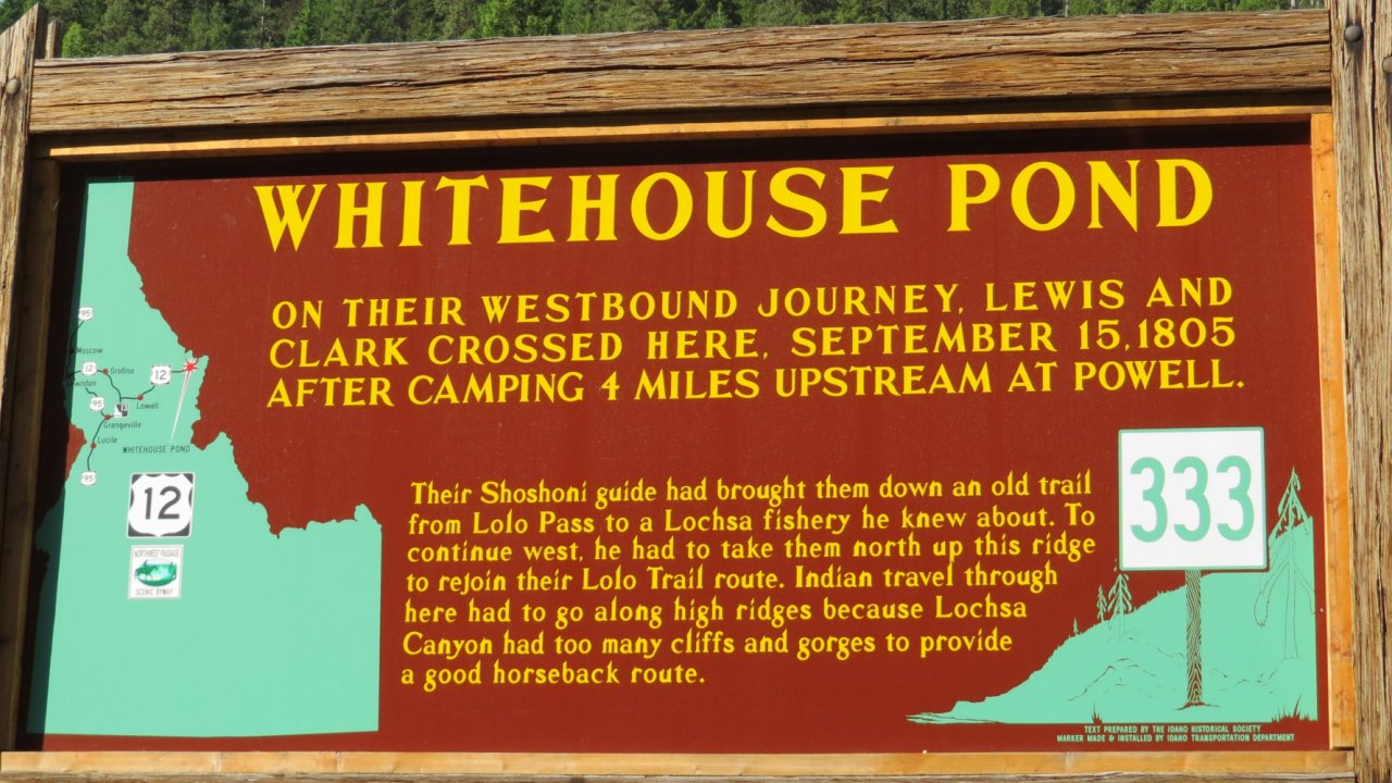 forest service sign in Idaho