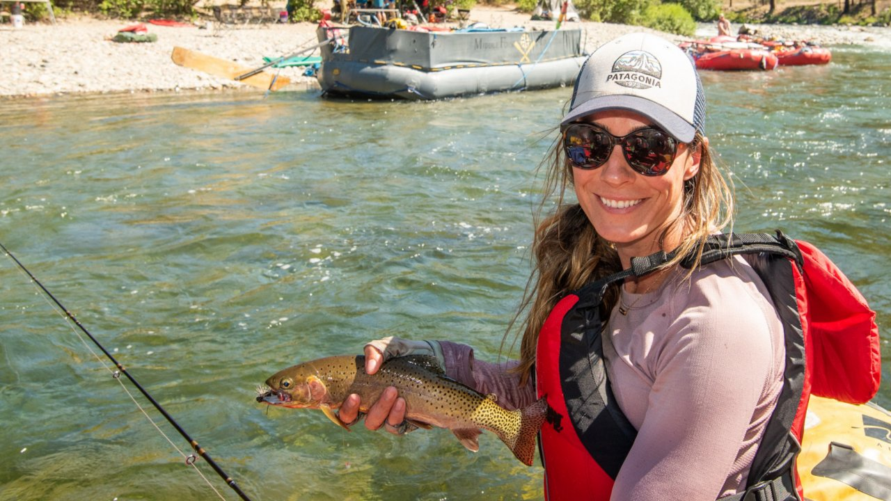 fly fishing trips on the salmon river in idaho