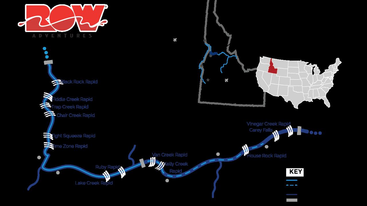 salmon river map