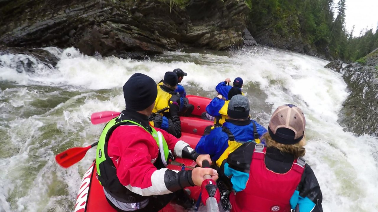 whitewater rafting trips in idaho