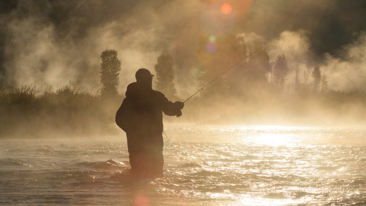 fly fishing on the snake river in idaho