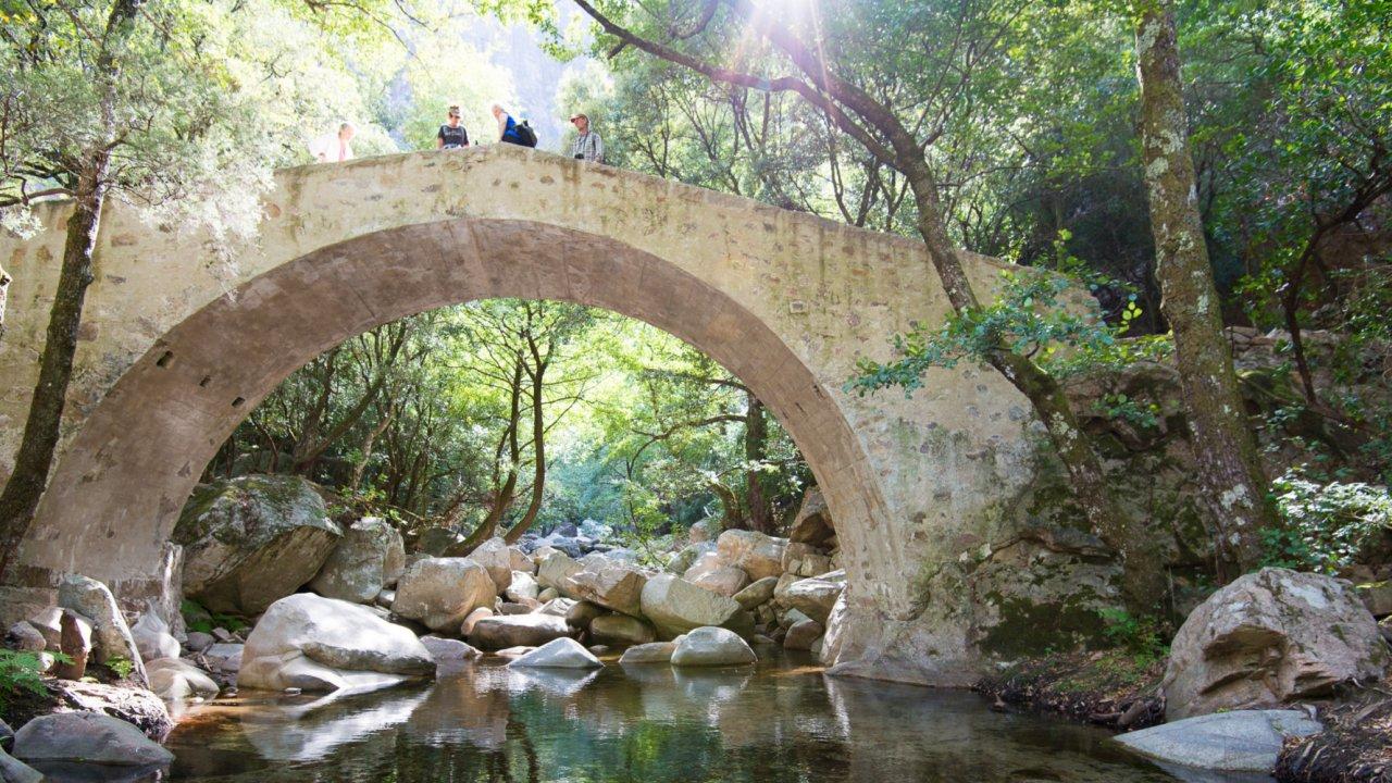 old bridge in corsica