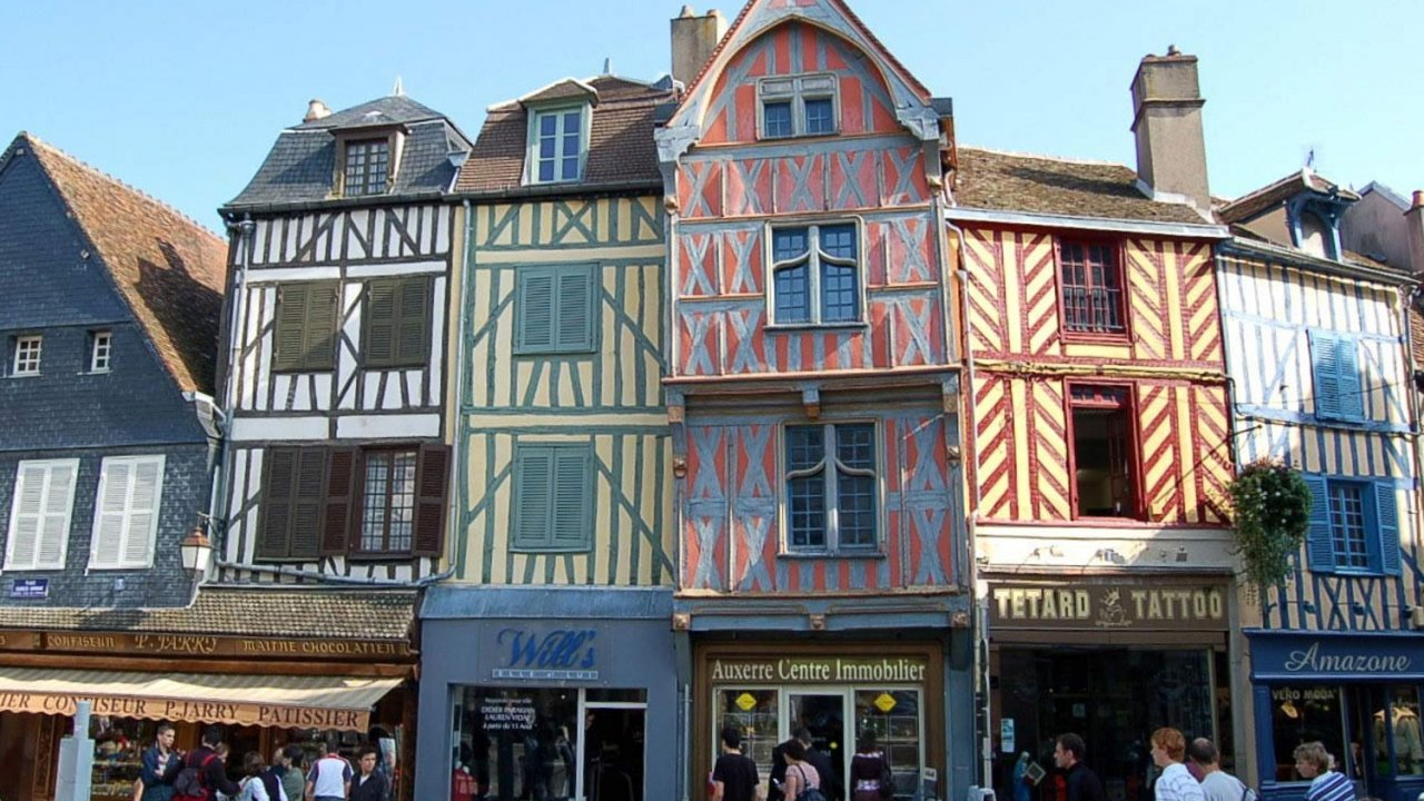 building exterior in france