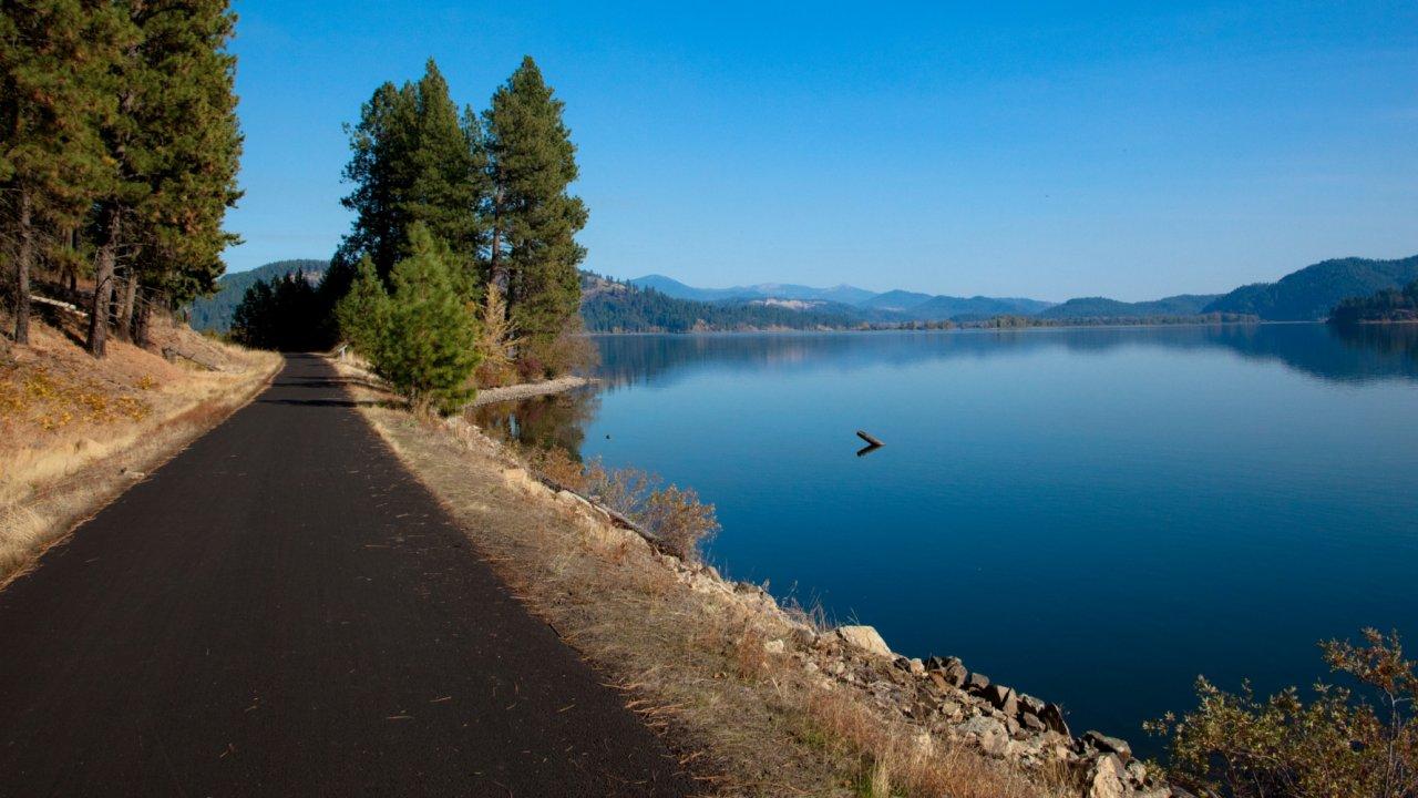 centenial trail in Idaho