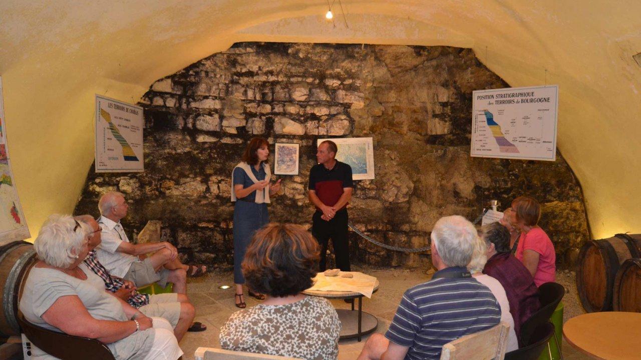 people on wine tasting tour