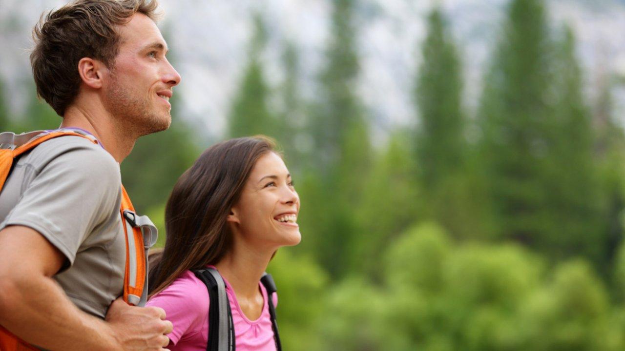 hikers in idaho
