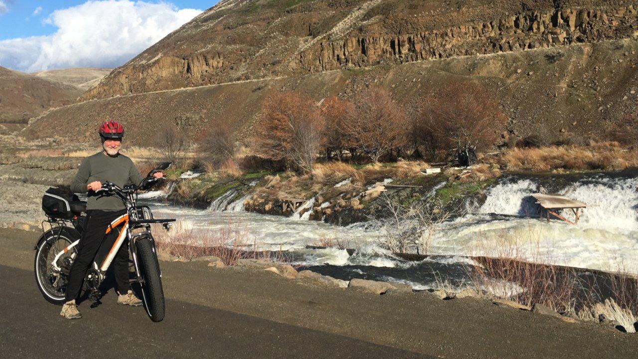 e-bike tours in maupin oregon
