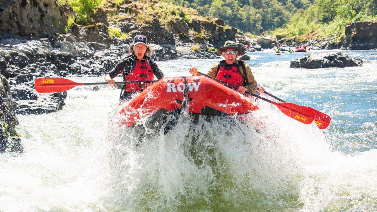 whitewater rafting oregon