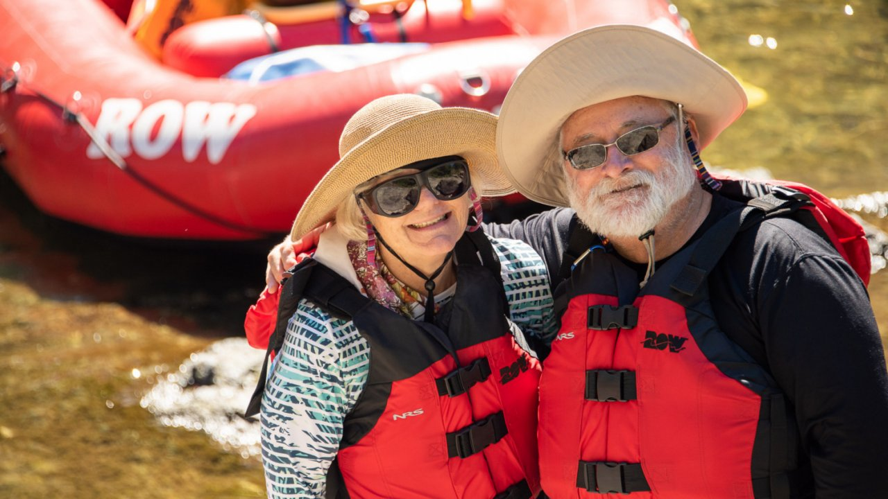 couple on rogue river