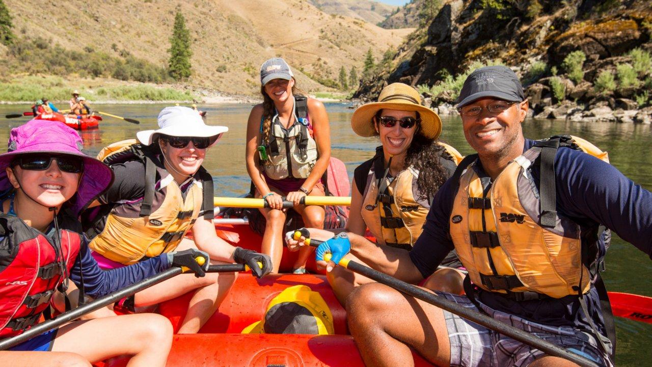 whitewater raft