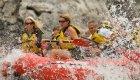 rafting the clarkfork river in Montana