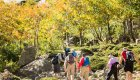 hikers in corsica