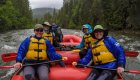people rafting the moyie river