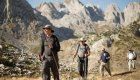 hikers in the Dinaric Alps, Albania