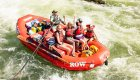 family rafting on the rogue river