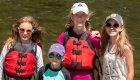 guided kayaking tour in eastern Oregon