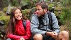 couple hiking in north idaho