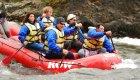 Raft on Moyie River
