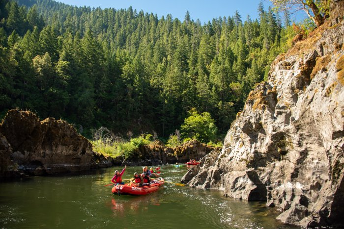 Wild and Scenic Rogue River in Oregon