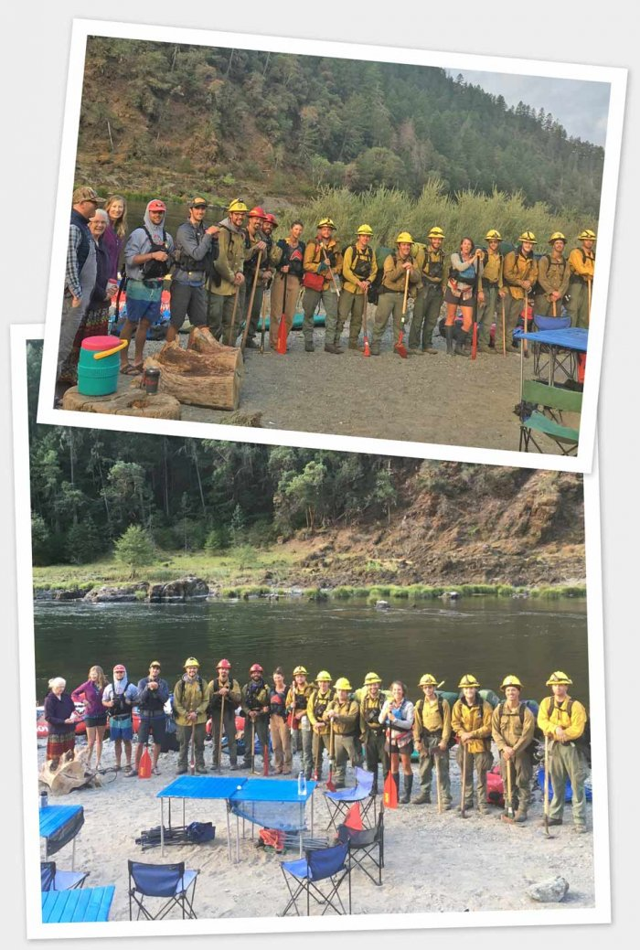 Oregon dept forestry fire fighters