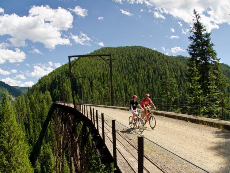 hiawatha trail in Idaho