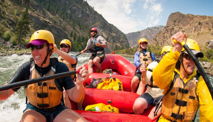 rafting the middle fork of the salmon river