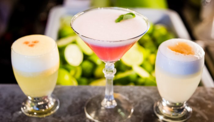 The Peruvian Pisco Sour