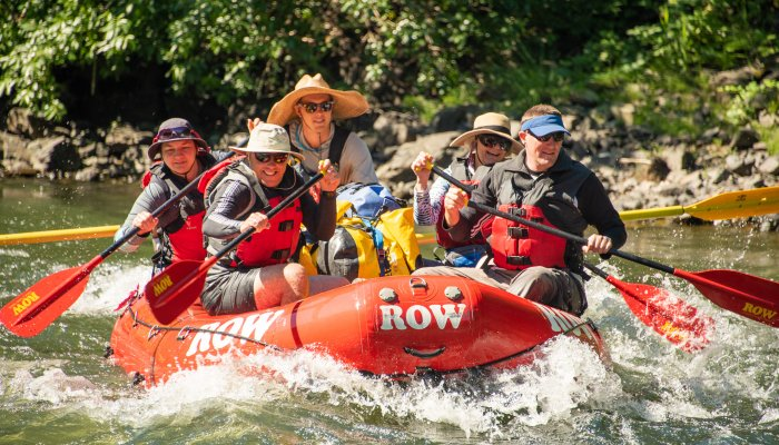 ROW whitewater rafting