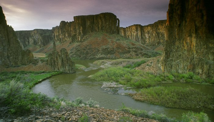Bruneau River in Idaho