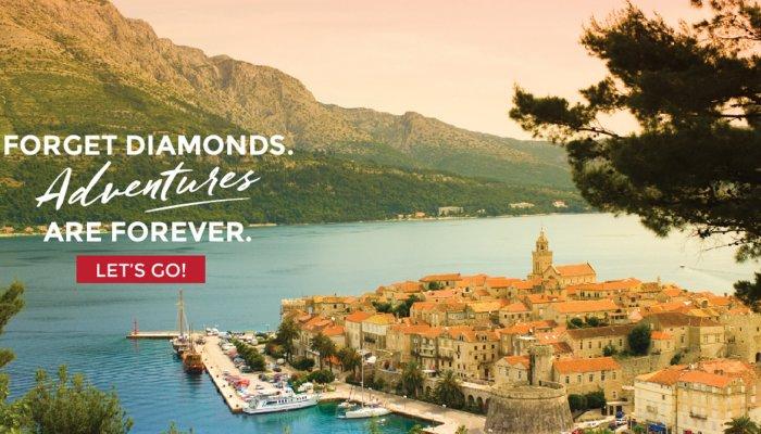 croatia town in front of ocean