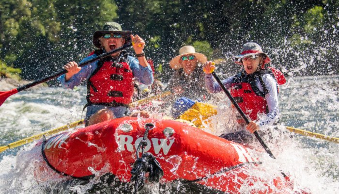 ROW Rafting Videos