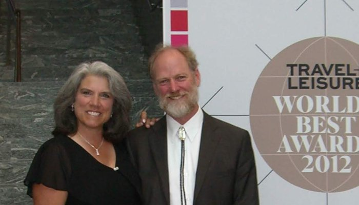 Peter Grubb and Betsy Bowen