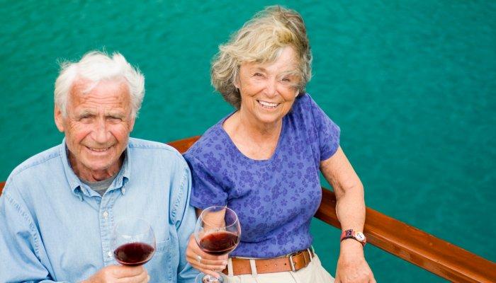 couple on croatia yacht