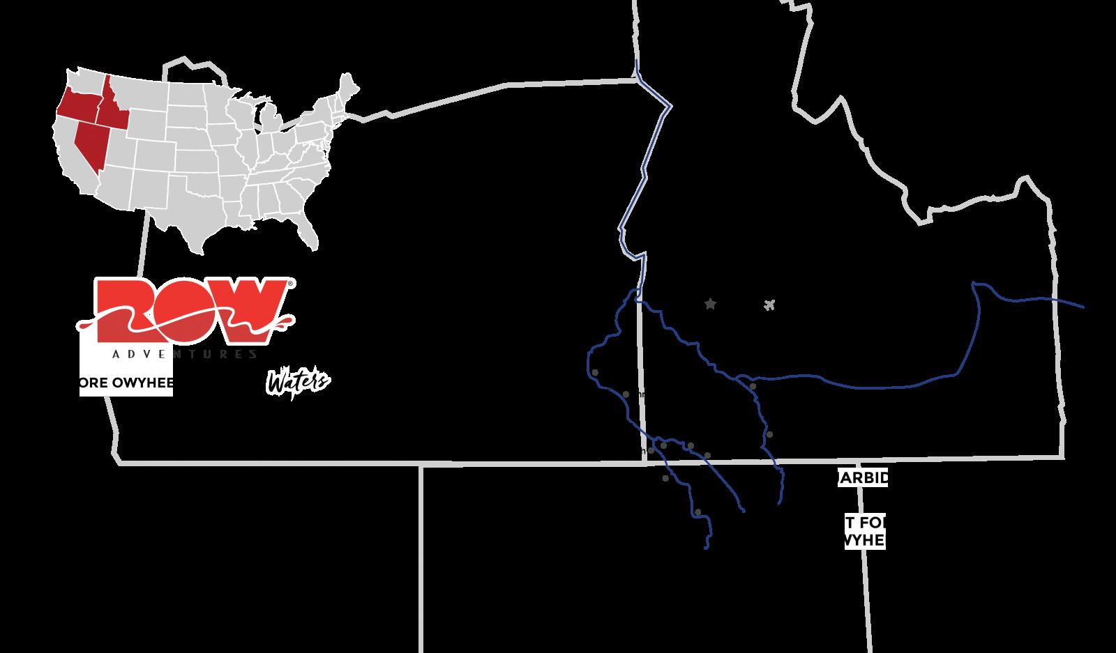 bruneau river map